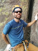Rock Climbing Photo: Belay ledge at Devils Tower