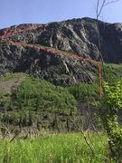 The start of the ridge.