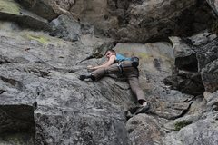 Rock Climbing Photo: Mike DeWitt on Life is Bad