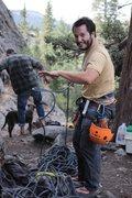 Rock Climbing Photo: Alfonso Lopez flaking
