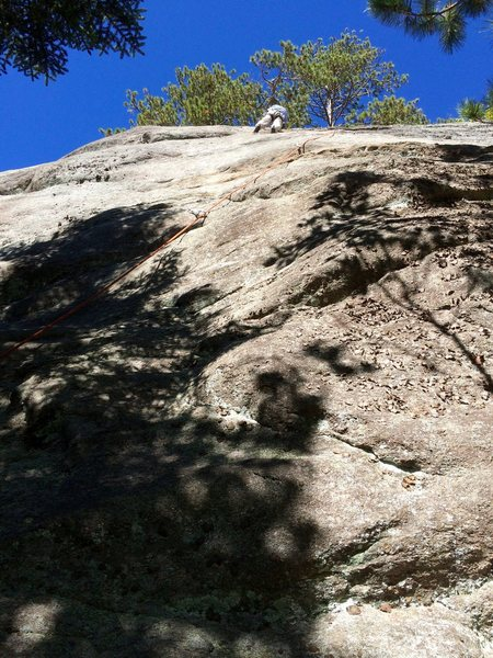 Rock Climbing Photo: Moose's Leap