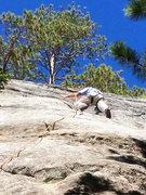 Rock Climbing Photo: On Moose's Leap