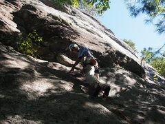 "Rock Climbing Photo: STARTing ""The Flake"""