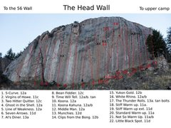 Rock Climbing Photo: Headwall