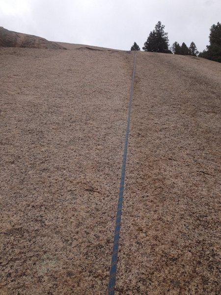Rock Climbing Photo: Upper Straight-No chaser