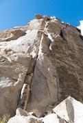 Rock Climbing Photo: take the double cracks up!