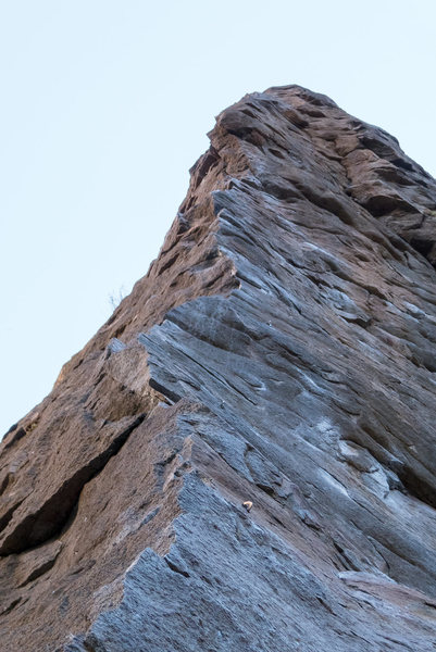 Rock Climbing Photo: obvious line but very good.