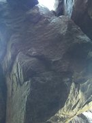 Rock Climbing Photo: The front of the boulder.