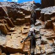 Rock Climbing Photo: Jason Hackney on the impressive First Ascent of Op...