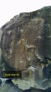 Rock Climbing Photo: South Slab V0