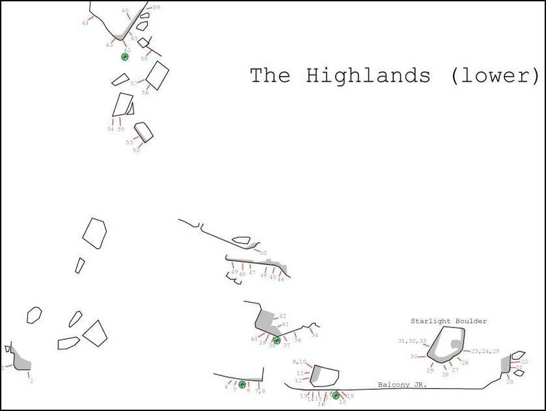 Beta sketch map of the Highlands (lower portion).