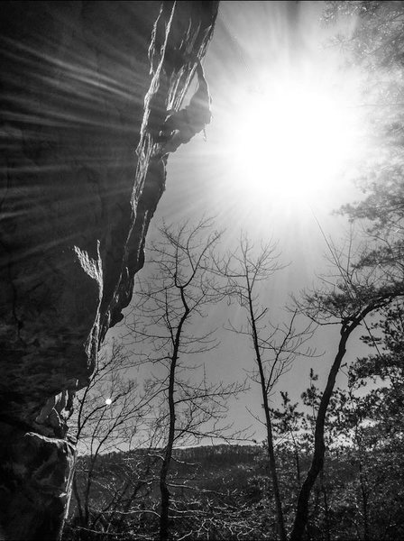Rock Climbing Photo: Death blow in TN