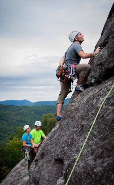 2nd pitch of the Nose on Looking Glass NC