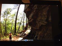 Rock Climbing Photo: Herculean Test