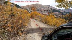 Rock Climbing Photo: The approach drive.