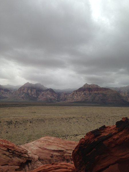 Red rock <br>