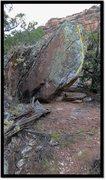 Rock Climbing Photo: Whafuck problem beta.