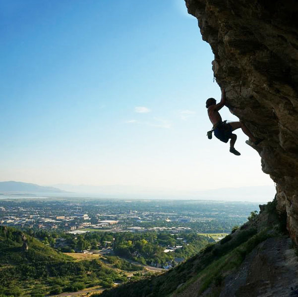 Rock Climbing Photo: Wonderful route, big moves. Crux for me was a fun ...