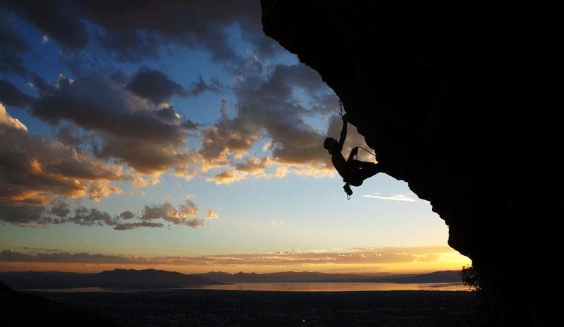 Beautiful climb, beautiful area.