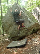 Rock Climbing Photo: Warmin up