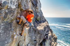 Rock Climbing Photo: Great Route.  Photo:  Kyle Turner.