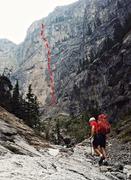 Rock Climbing Photo: Heading towards the wall