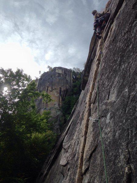 Rock Climbing Photo: Toe Crack
