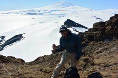 Rock Climbing Photo: New Years post hike/climb on Ross Island with Ereb...