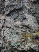 Rock Climbing Photo: Furlough Day in yellow.
