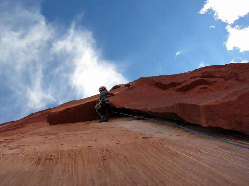 Rock Climbing Photo: 1 Year ago I started climbing. On my 6th day climb...