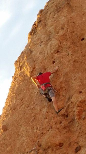 Rock Climbing Photo: Cracker Jacks. flashed. Easy climb.