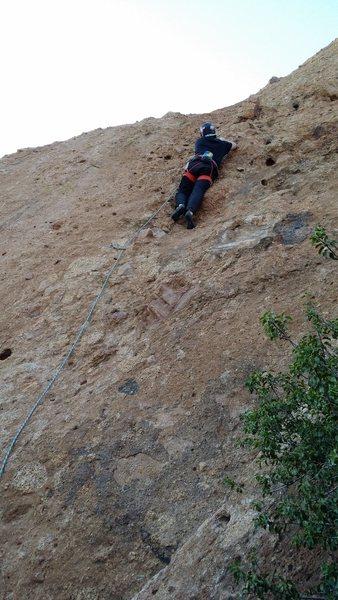 Rock Climbing Photo: Onsite. Cracker Jacks.