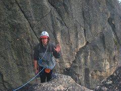 Rock Climbing Photo: i come in peace