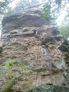 Rock Climbing Photo: Hot Wing Buttress front.