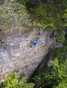 Rock Climbing Photo: Drone shot.