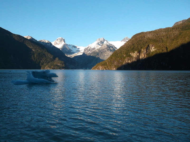 Near the Northern Patagonian Ice Cap, in Chile.