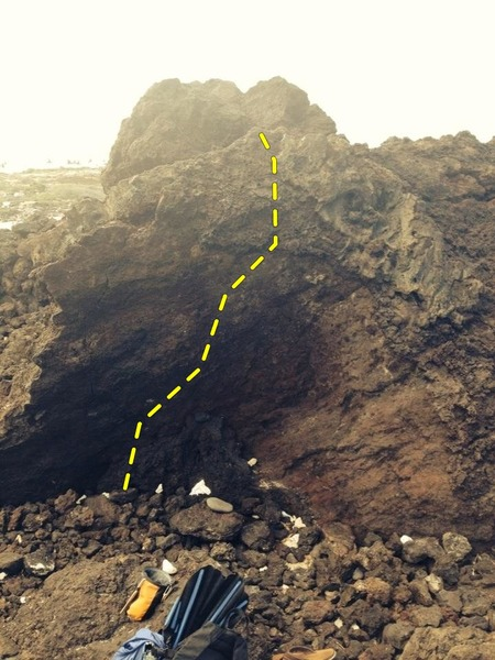 Rock Climbing Photo: Face climb