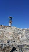 Rock Climbing Photo: Atop da toof