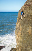 Rock Climbing Photo: Terete Arete. The position of this route is very e...
