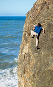 Rock Climbing Photo: Fun moves on Terete Arete. One of my favorite clim...