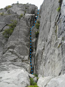 Rock Climbing Photo: A view of the Gorge from the base