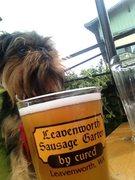 Rock Climbing Photo: Enjoying Sausage and Beer Post climb Leavenworth