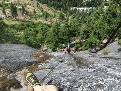 Rock Climbing Photo: Goat Dome Leavenworth