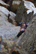 Rock Climbing Photo: Jr. Achievement, left of The Nose