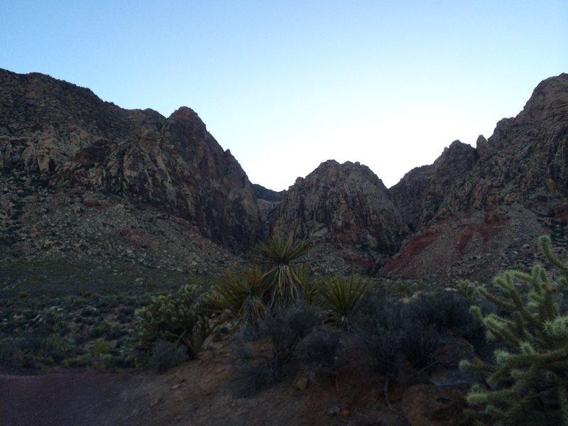 Black Velvet Canyon Red Rocks, NV