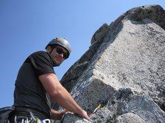 Rock Climbing Photo: Prusik Peak the enchantments. 5.7 slab pitch