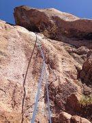 Rock Climbing Photo: BD crux