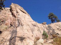 Rock Climbing Photo: Celeb's right side.