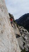 Rock Climbing Photo: Schirf on the Coffin