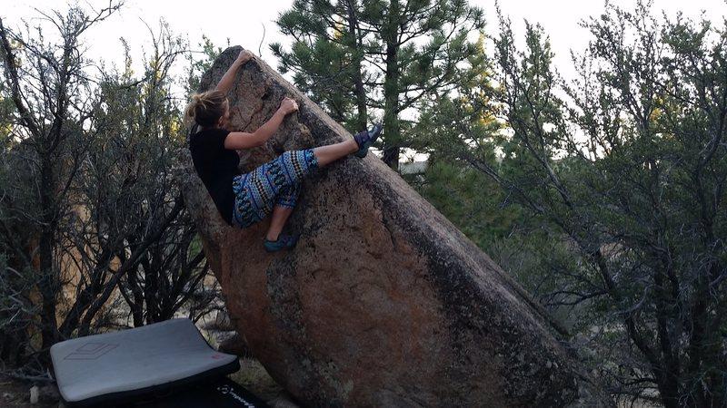 Rock Climbing Photo: Eva Sending